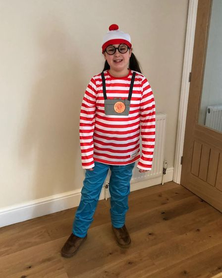 Lucy Giles, 10, from Great Paxton School