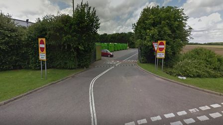 The recycling centre is in Wood Walton Road. Picture: GOOGLE