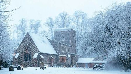 St Mary's Church, Redbourn. Picture: Kelly Field.
