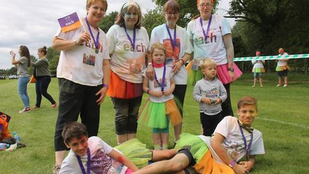 The Colour Dash is coming to Huntingdon. Picture: EACH