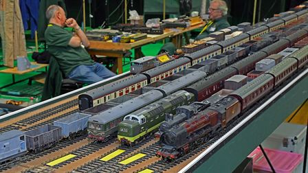 East Anglian Model Railway Exhibition at Wood Green, in Godmanchester. Picture: ARCHANT