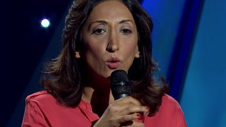 Shazia Mirza is appearing at the Cambridge Junction