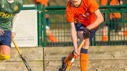 St Albans' Luke Kennedy hit a hat-trick against Blueharts. Picture: CHRIS HOBSON PHOTOGRAPHY