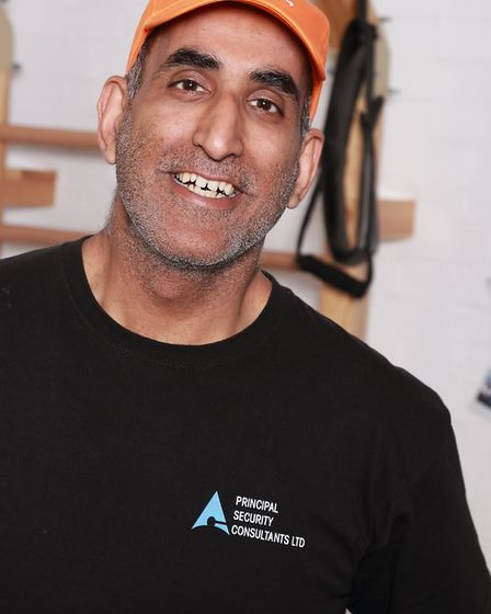 Sid Khan, who is volunteering to be slapped to raise money for Home-Start.
