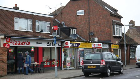Some of the shops on Manor Road, Caddington (credit: Danny Loo)