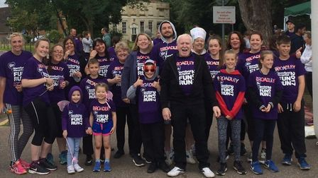 Team Broadley at the Harefield Hospitals Charity 5k Fun Run. Picture: Michelle Broadley