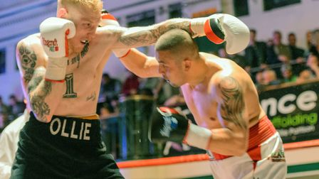 Ollie Pattison has been forced to withdraw from his upcoming title fight because of injury. Picture: