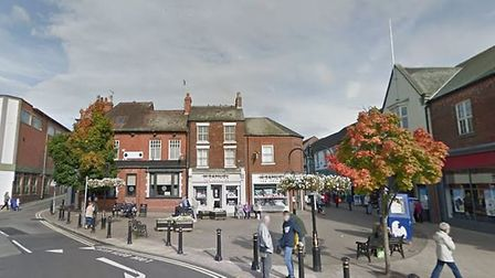 There are bargains to be had in the Staffordshire market town of Newcastle-under-Lyme (Google Street
