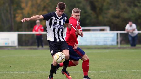 Jack Woods for Colney Heath. Picture: KEVIN LINES