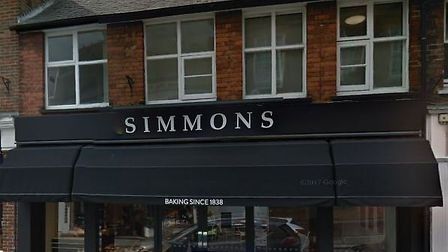 Simmons on Station Road, Harpenden. Picture: Google.
