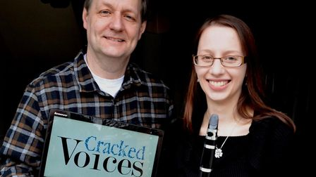 Cracked Voices duo Graham Palmer and Jenni Pinnock have come up with a novel way to remember forgott
