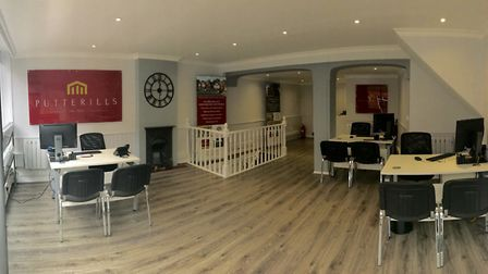 Putterills' new office on Holywell Hill, St Albans