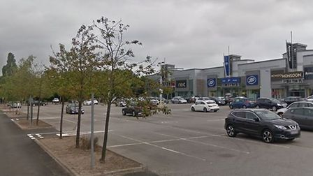 Colney Fields shopping centre. Picture: Google.