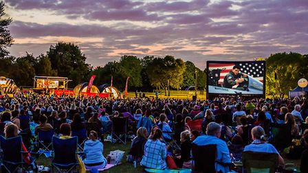 Top Gun will be screened at this year's Luna Cinema on Harpenden Common