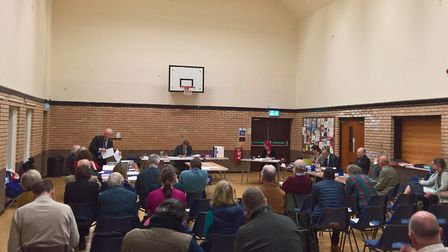 The inspector of the Therfield Heath land swap inquiry, which took place in Royston last month, is c