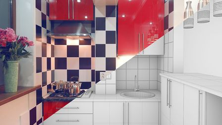 A few small changes can transform a tired kitchen (Credit: Thinkstock/PA)