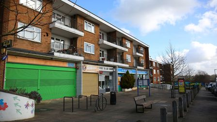 The parade of shops at Abbots Avenue West (Picture: Danny Loo)