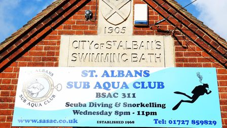 Water sports on offer at the St Albans Sub Aqua Club include scuba diving, snorkelling and swimming