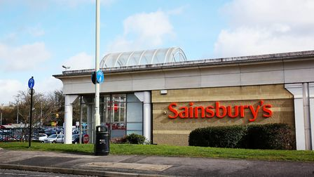 Sainsbury's, Everard Close (Picture: Danny Loo)