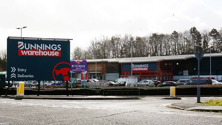 Bunnings, Griffiths Way (Picture: Danny Loo)