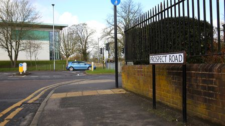 Prospect Road, with Westminster Lodge Leisure Centre in the background (Picture: Danny Loo)