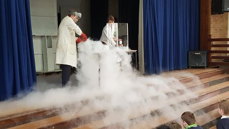 Pupils were treated to a fun-filled week of science at Melbourn Village College. Picture: MVC