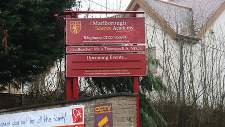 Marlborough Science Academy. Picture: DANNY LOO
