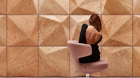 Room to dream: These multi-faceted panels from Moko depict Hungary's Matra Mountains and come in Ame