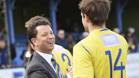 St Albans City co-owner Lawrence Levy. Picture: BOB WALKLEY