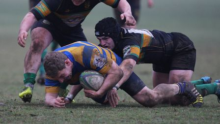 Joe Shaw in action for St Albans.Picture: Karyn Haddon