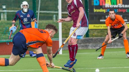 St Albans Hockey Club's men hit an amazing 16 past Spalding. Picture: CHRIS HOBSON PHOTOGRAPHY