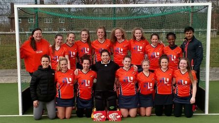 St Albans Hockey Club's ladies who beat Chelmsford 9-0. Picture: CHRIS HOBSON PHOTOGRAPHY