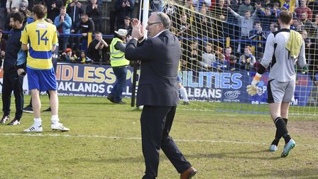 Ian Allinson believes the crowds could flock to Noke Lane if St Albans City's new ground is granted