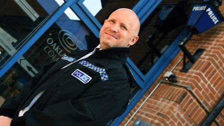 Ch Insp Stuart Cheek. Picture: Herts Police.