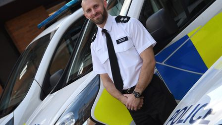 Insp Jon Roche. Picture: Herts Police.