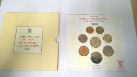 Police are trying to locate the owner of the coins