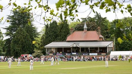 The Phil Milton Memorial Charity Cricket Match has been running for two years. Picture: Joshua Sherw