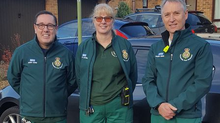 The Royston community first responders. Picture: Laraine Upton