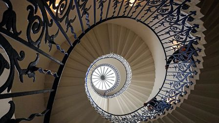 'Queens House staircase' by David Whitbread.
