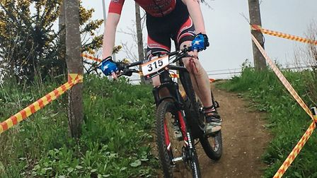 Sam Trotter triumphed in the latest round of the Mud Sweat & Gears Eastern League.