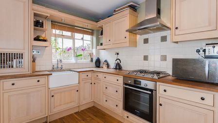 The fully fitted kitchen and utility area is finished to a high specification