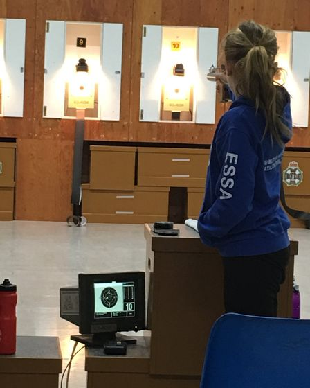 Raissa Vickery has been selected to join the British Shooting Olympic Talent Pathway for Pistol.