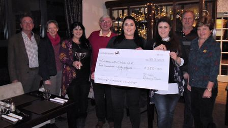 The winning team from the Duchess pub, in Fenstanton. Picture: CONTRIBUTED