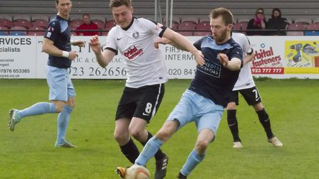 Tom Meechan scored the first goal of his latest St Neots Town spell when breaking the deadlock at Do