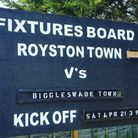 Royston Town entertained Biggleswade Town at Garden Walk (pic Layth Yousif)
