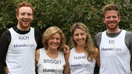 Members of the Gough family are to run the 2018 London Marathon for their charity Khandel Light.