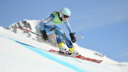 St Albans' Sophie Chester took silver in the U16 super G at the British Alpine Skiing Championships