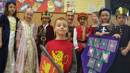 Medieval Day at Crosshall Infants School