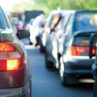 Delays are expected on the M11 between junction 11 and 10 due to a fuel spillage.
