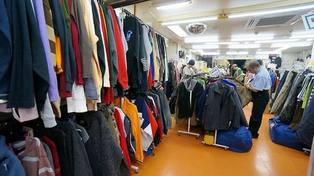 Sustainable St Albans Week 2018. Swap old clothes at a token-based exchange.